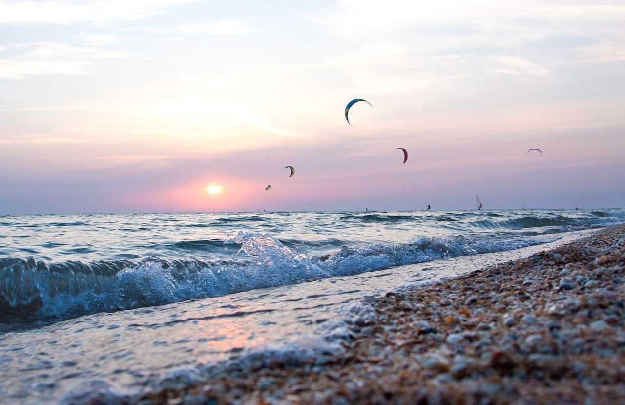 Популярный курорт Азовского моря